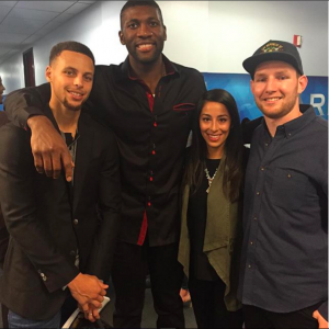 Packie and Bianca with Steph and Festus