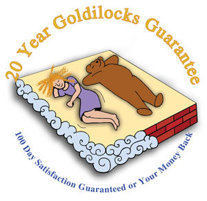 Click to see our 20 yearGoldilocks Guarantee