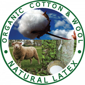 Organic Cotton, Organic Wool, Natural Latex