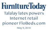 Furniture Today honors FloBeds as Internet Mattress Pioneer