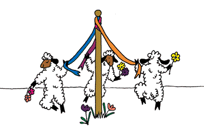Celebrate May - Dance around the May Pole!