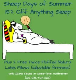 Sheep Days of Summer