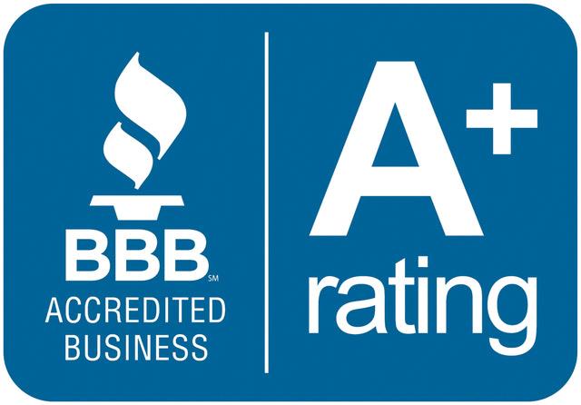 BBB Better Business Bureau A+ rating