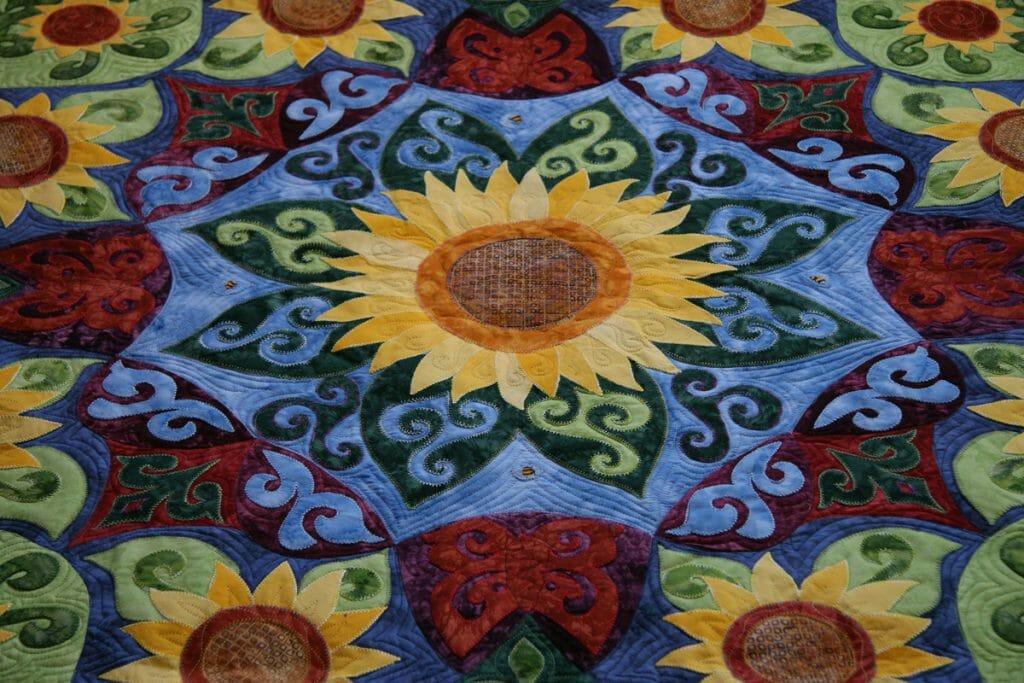 Bryna's Sunflower Quilt