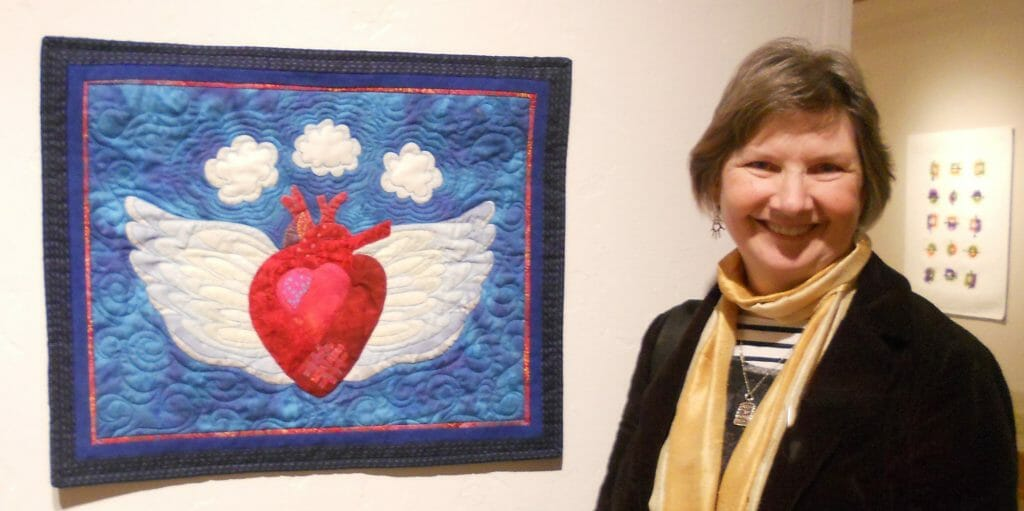 Anne and Heart With Wings.