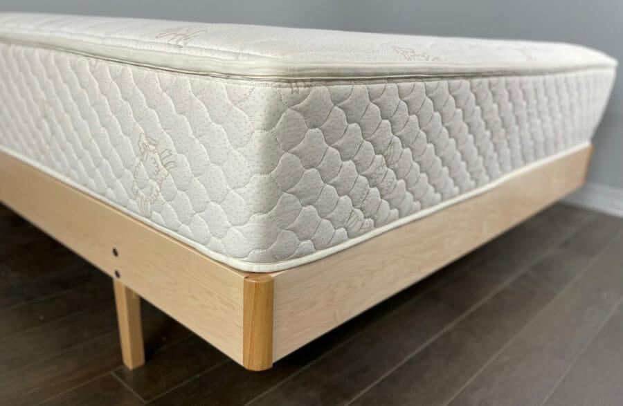 Ergonomic Maple Bed Frame