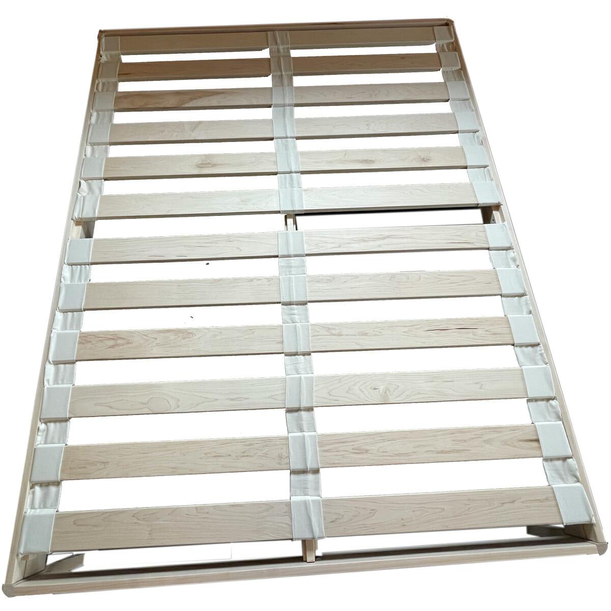 Maple Platform Bed -Maple Slats - TopView