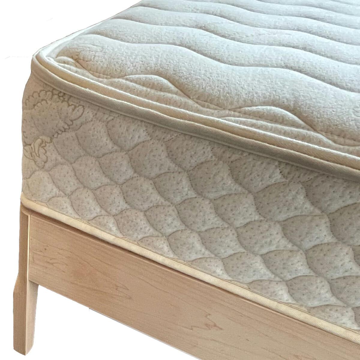Maple Platform Bed Finished with Euro Slats