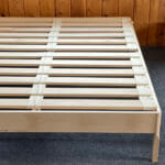 Maple Platform Bed with Maple Slats
